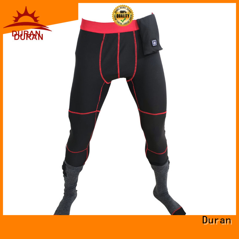 Duran warm best heated pants manufacturer for hiking
