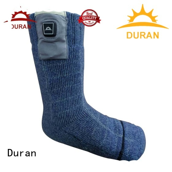 professinal battery operated socks factory for outdoor activities
