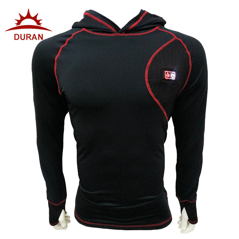 Duran Heat Last Base Layer with Hood
