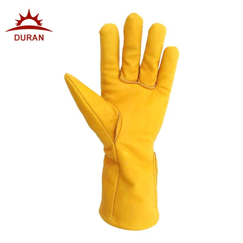 Duran Heated Leather Electric Gloves Heated Mittens