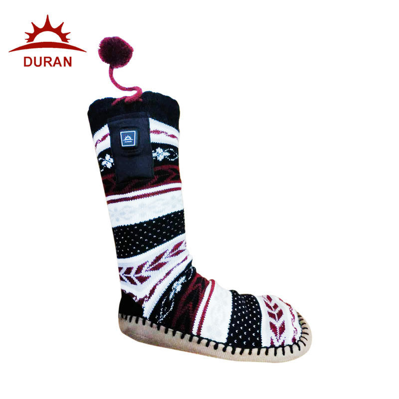 Duran Indoor Heated Slipper Battery Warming Socks