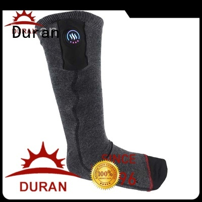 Duran best electric warming socks company for winter