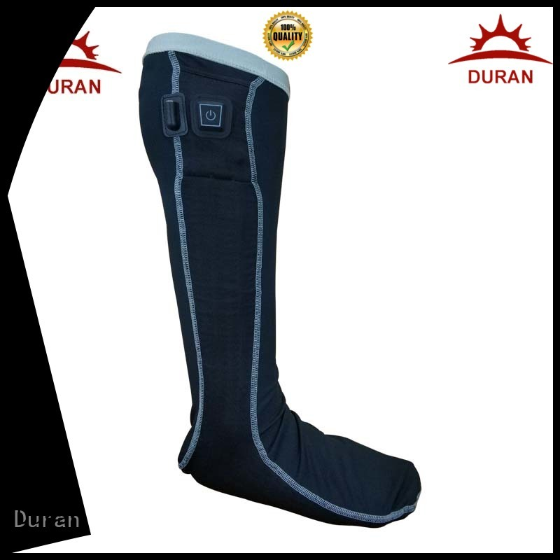 Duran best electric heated socks company for sports