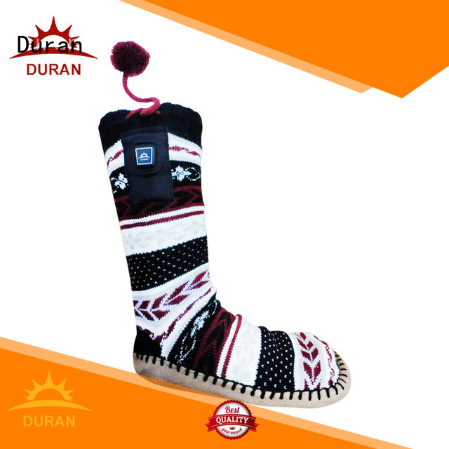 Duran battery operated socks supplier for outdoor work
