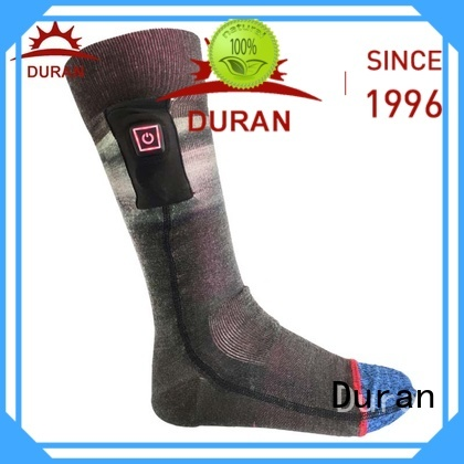 Duran great electric warming socks manufacturer for sports