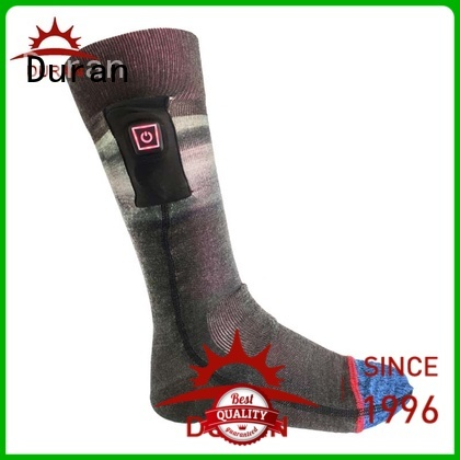 Duran professinal battery socks manufacturer for sports