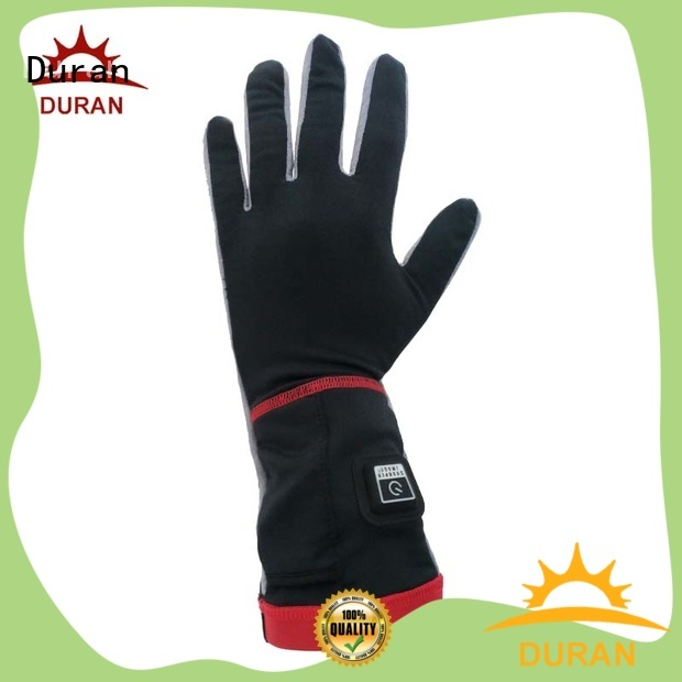 Duran battery operated heated gloves for outdoor sports
