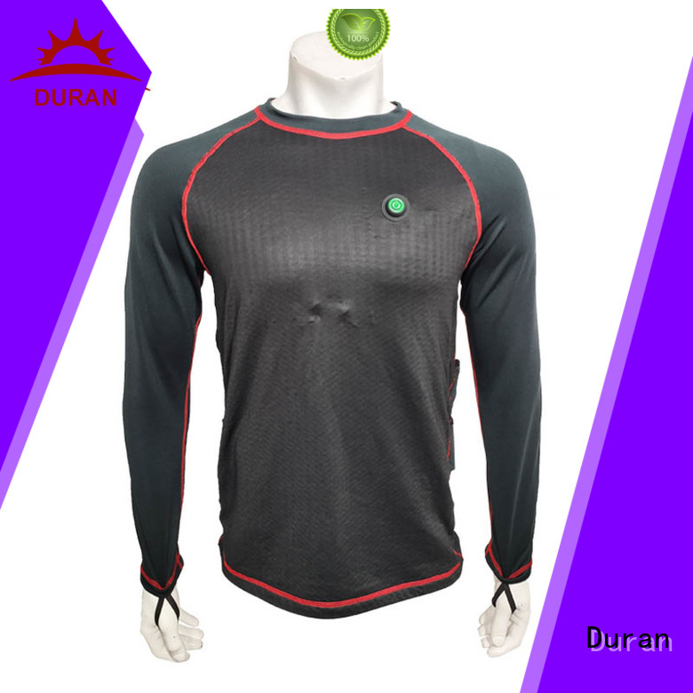 Duran top best heated base layer company for cold weather