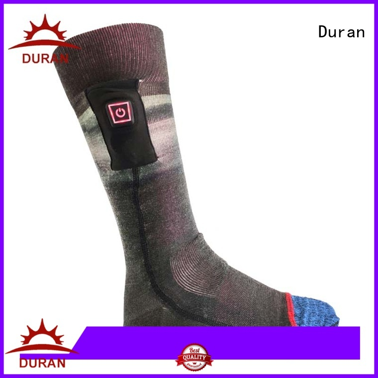Duran top rated best heated socks manufacturer for outdoor work