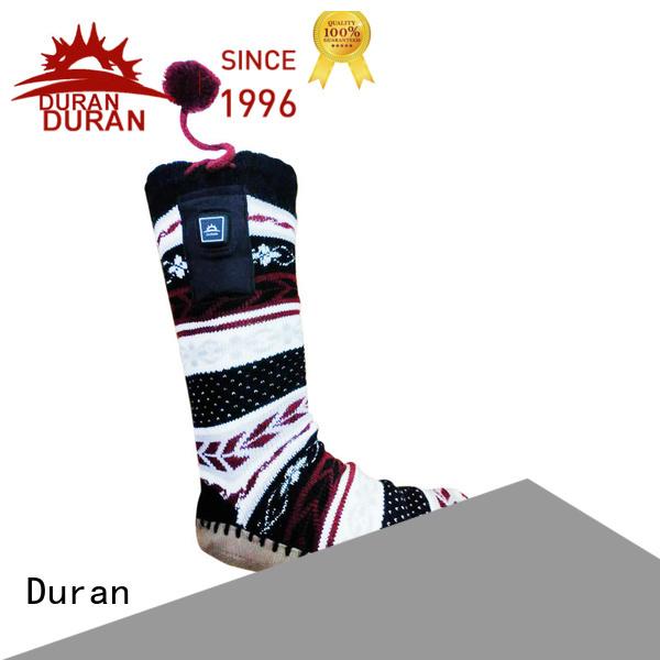 Duran heated socks company for sports
