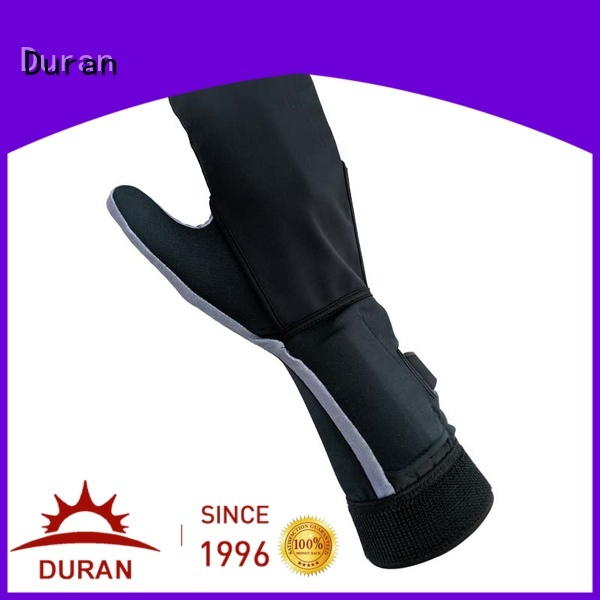 Duran battery operated heated gloves factory for outdoor work