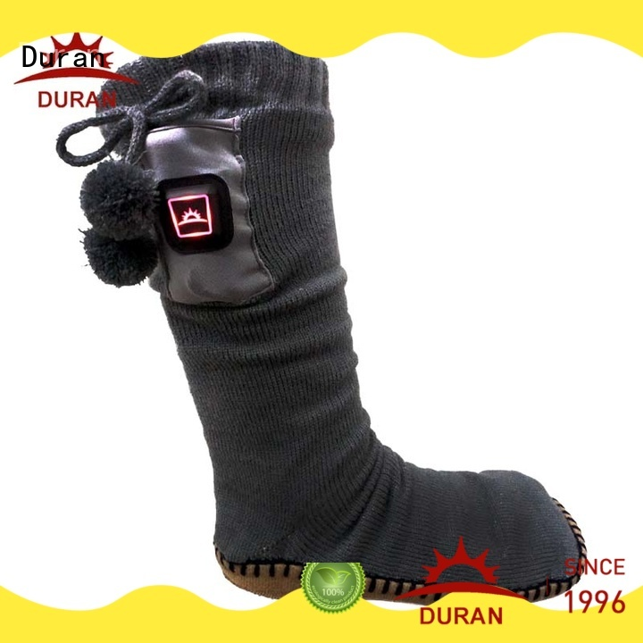 Duran professinal battery powered heated socks manufacturer for winter