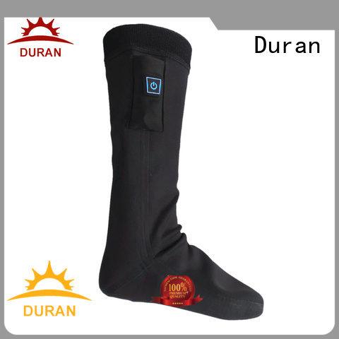 Duran top rated battery powered socks factory for outdoor work