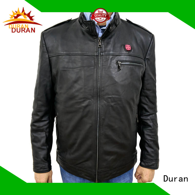 Duran best electric jacket company for cold weather
