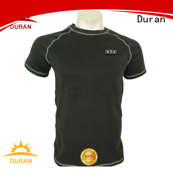 Duran battery heated base layer for cold weather