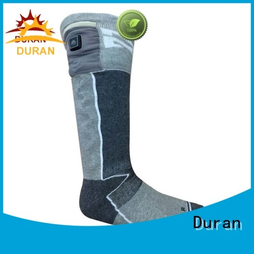 Duran top rated electric warming socks company for outdoor work