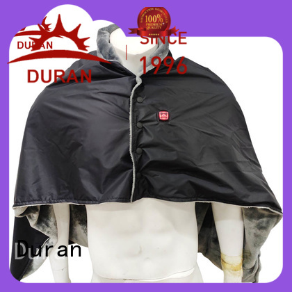 Duran heated hood company for cold weather