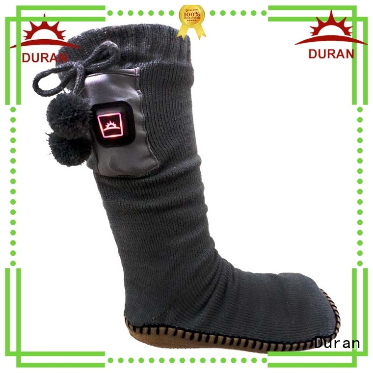 Duran best heated socks factory for outdoor work