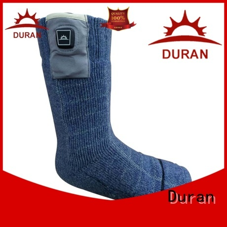 Duran battery powered heated socks company for sports