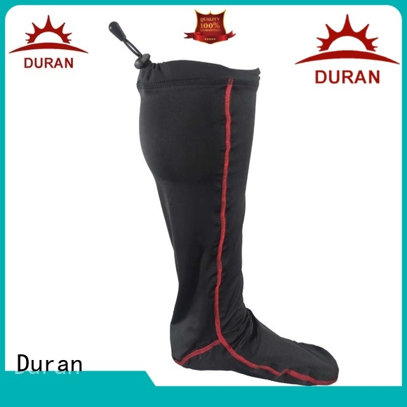 Duran battery socks manufacturer for winter