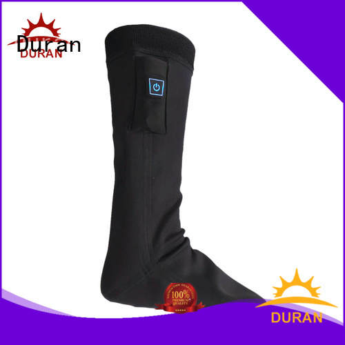 professinal battery operated heated socks company for outdoor activities