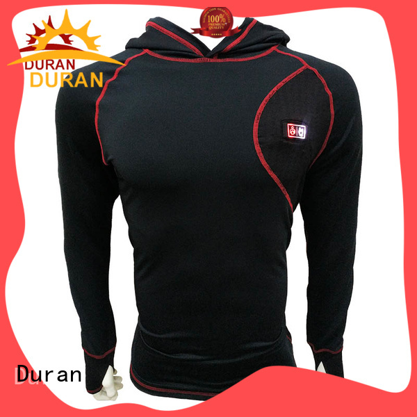 Duran professional base layer supplier for cold weather