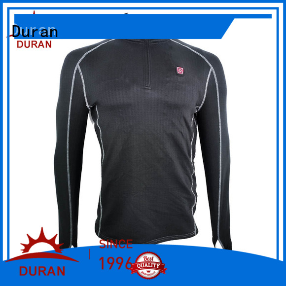Duran good quality heated base layer for winter