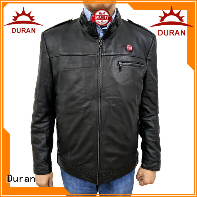 Duran electric heated jacket factory for cold weather