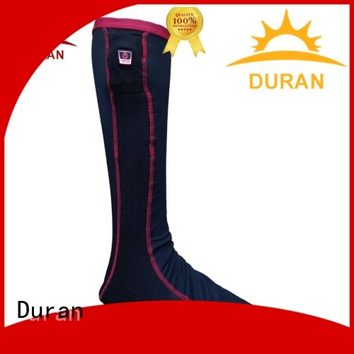 Duran great battery powered socks supplier for outdoor work
