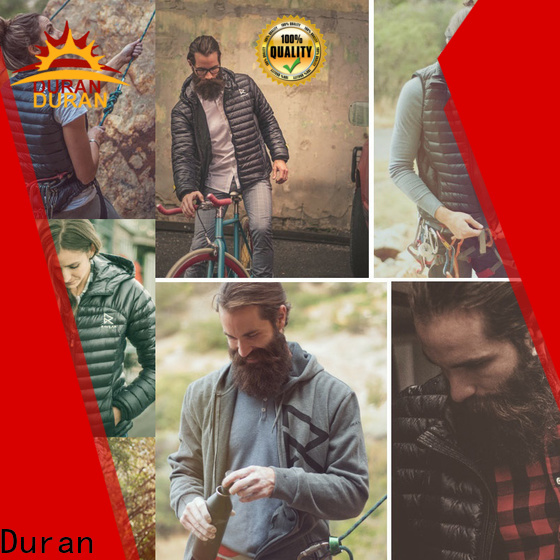 Duran electric heated vest company for outdoor sports