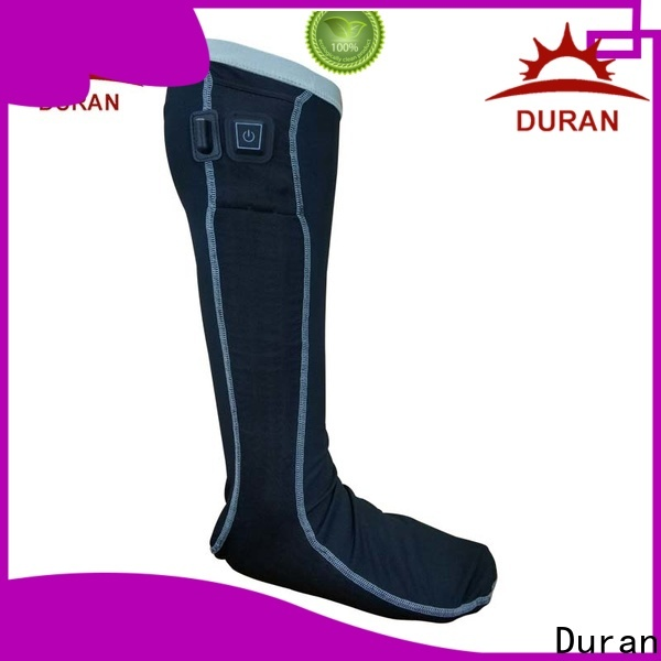 Duran electric warming socks supplier for outdoor work