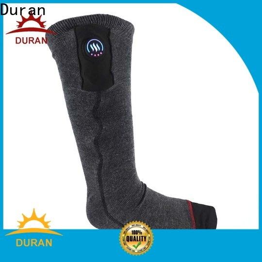 Duran best electric socks supplier for winter