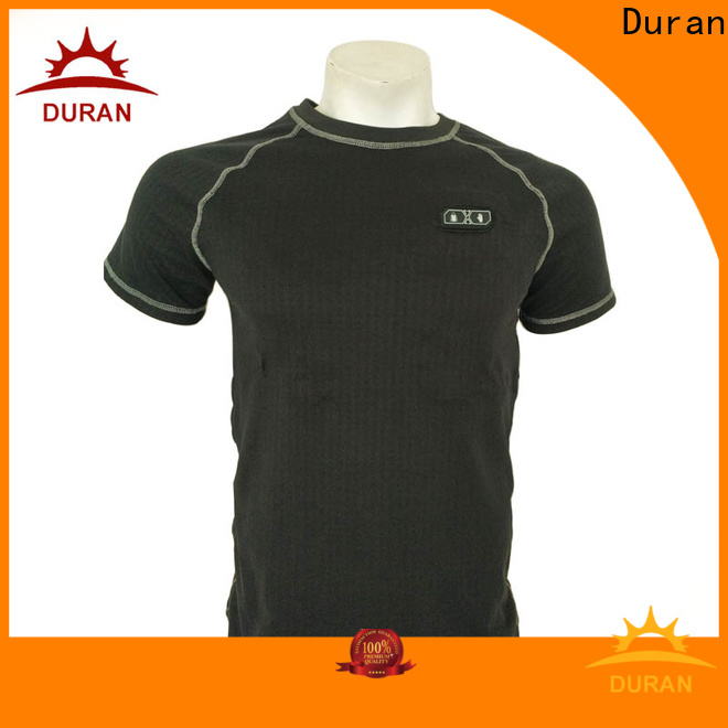 Duran top battery heated base layer company