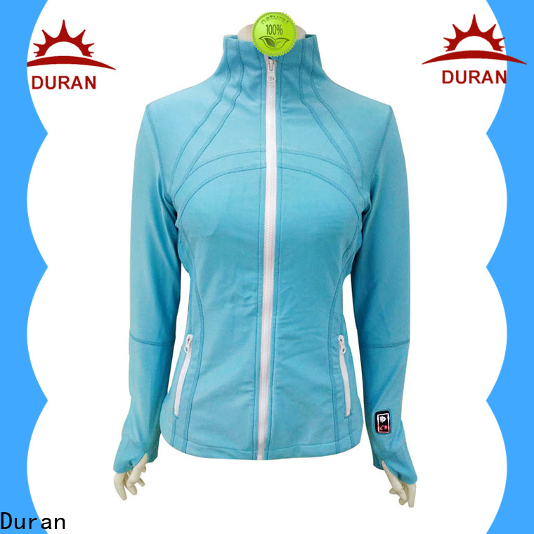 Duran top rated battery heated coats factory for outdoor