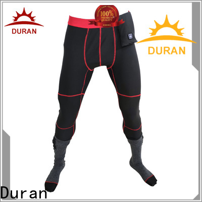 Duran best heat keep pants company for cmaping