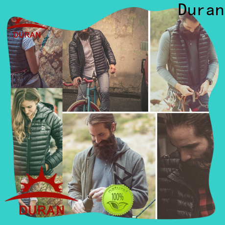 Duran good quality best heated vest company for outdor work