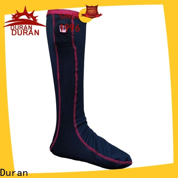 Duran battery powered heated socks manufacturer for outdoor work