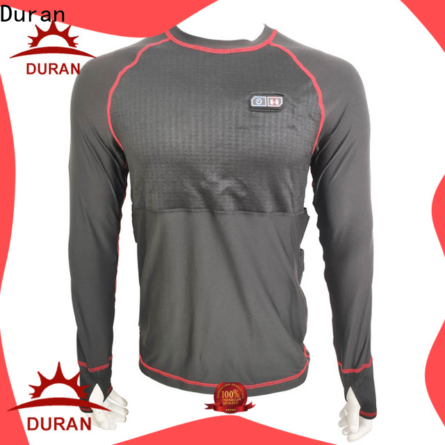 Duran heated baselayer manufacturer for cold weather