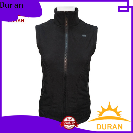 Duran battery heated coats for cold weather