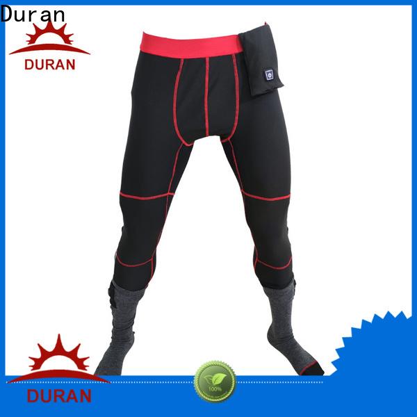 Duran heated pants for climbing